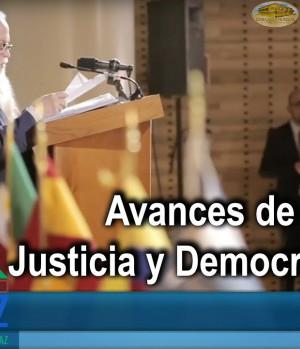 CUMIPAZ 2018 - Avances sesión justicia y democracia   EMAP