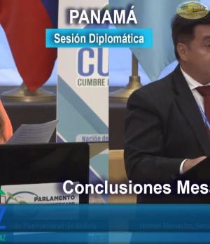 CUMIPAZ 2017 - Sesión Diplomática, Parlamentaria y Política - Conclusiones Mesas de Trabajo | EMAP