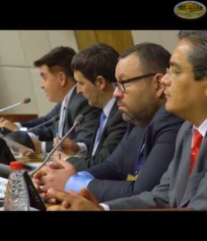 Sesion Diplomática, Parlamentaria y Política en CUMIPAZ 2016