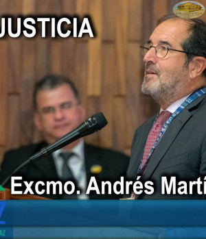 CUMIPAZ 2018 - Sesión Justicia - Excmo. Andrés Martínez Arrieta | EMAP