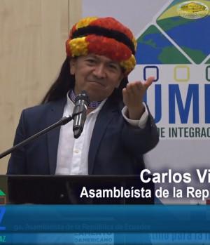 CUMIPAZ 2017 - Sesión Diplomática, Parlamentaria y Política - Carlos Viteri - Mesa 2 | EMAP