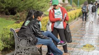 peatones reciben sensibilización