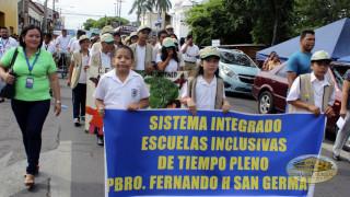 Desfile medioambiental.