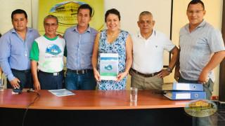 autoridades respaldan proclama en Puerto Quito