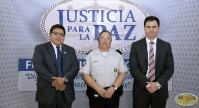Subdirectora de la PNC, Emma Pérez