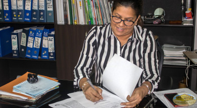 alcaldesa Maritza Pérez