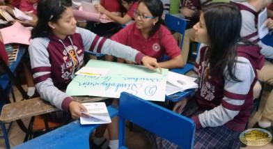 Desarrollo del taller educativo