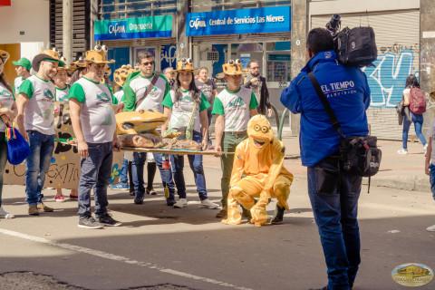 día mundial vida silvestre, Colombia, marcha, animales vía extinción