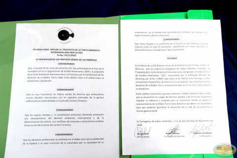 Documento Apoyo de la FPVA a la Carta Ambiental Interamericana