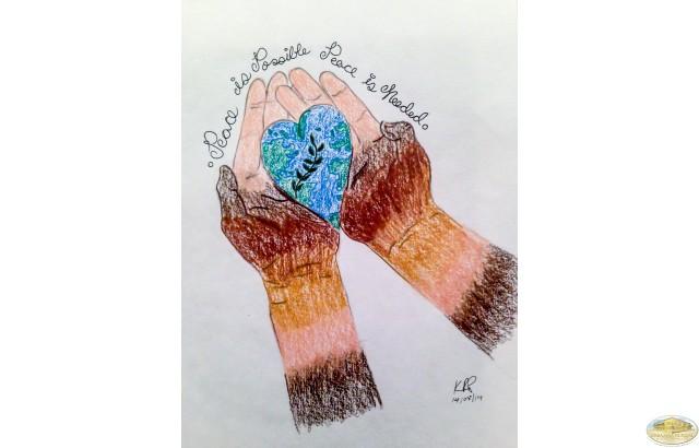 Keila Rodriguez, Puerto Rico -  La paz es posible, está en tus manos
