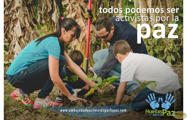 Eliezer Rosario Marrero, Alma Iris Morales Rodríguez, Eliezer Gadiel Rosario Morales, Dariel Elí Rosario Morales - Puerto Rico, Una familia activista por la paz