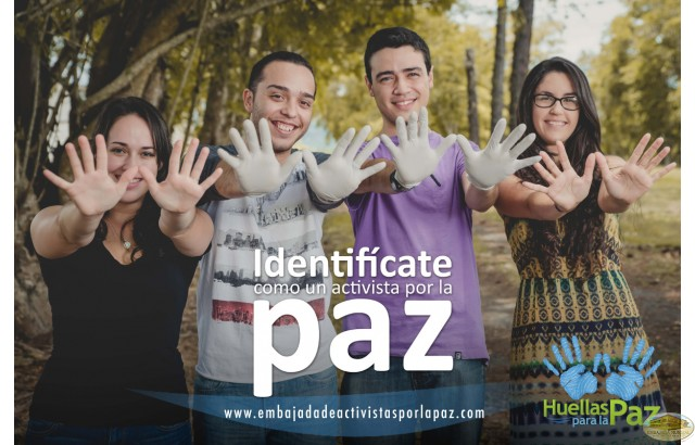 Carlos Javier Jiménez Rivera, Julio David Cruz Pinilla, Daisy Vázquez Rivera, Keila Rodríguez Pérez - Puerto Rico, Sé un Activista por la Paz