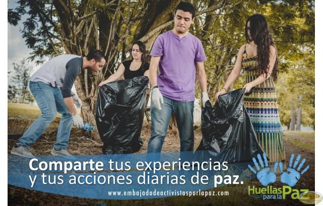 Carlos Javier Jiménez Rivera, Julio David Cruz Pinilla, Daisy Vázquez Rivera, Keila Rodríguez Pérez - Puerto Rico, Invita a otros a hacer parte de tus acciones de paz