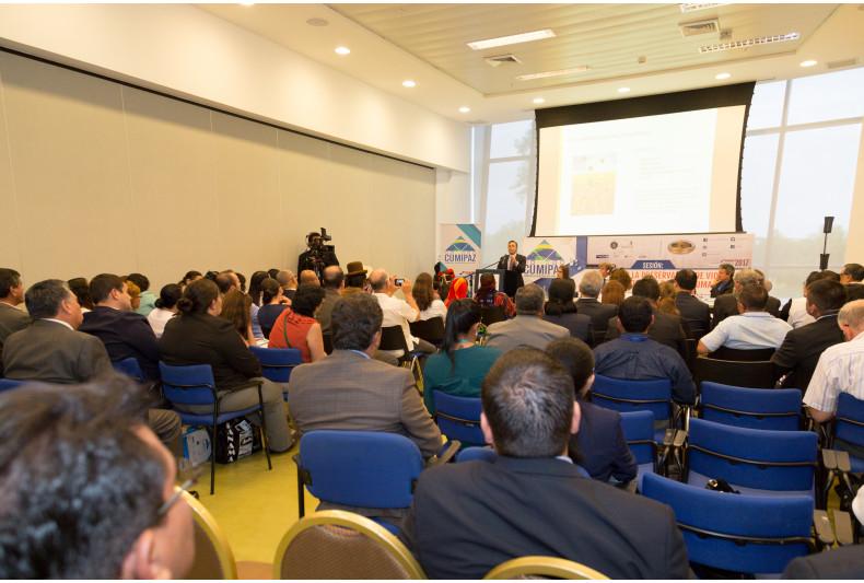 Dr. Jorge Alvarado presented