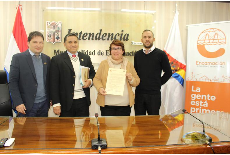 municipalidad de Encarnación apoya proclama