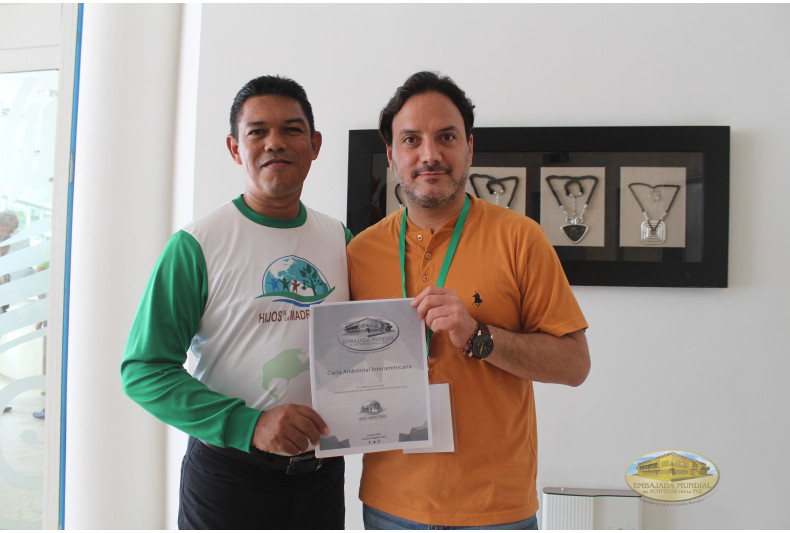 Entrega Carta Ambiental Interamericana