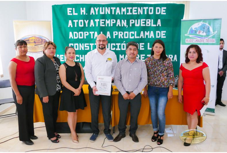 Respaldo Proclama en Atoyatempan