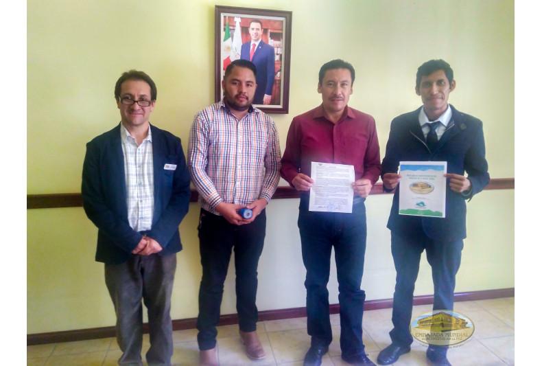 reconocimiento proclama Sustiacan, México