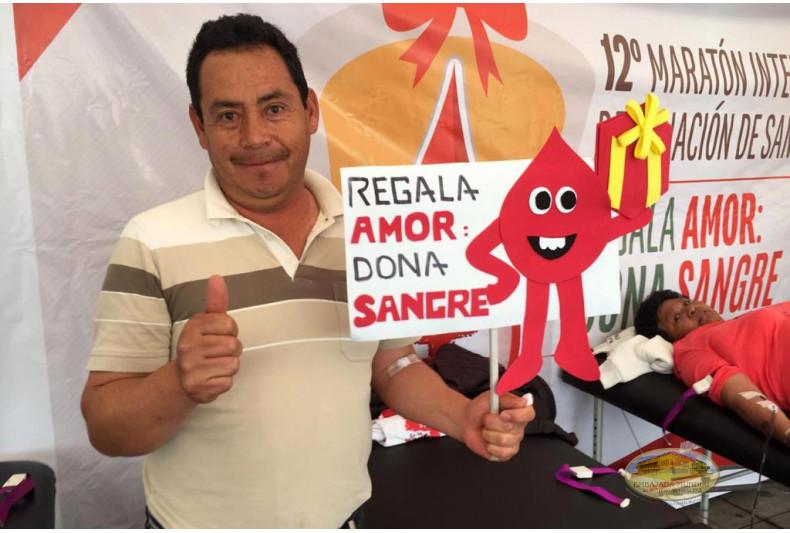 Donante de Sangolqui
