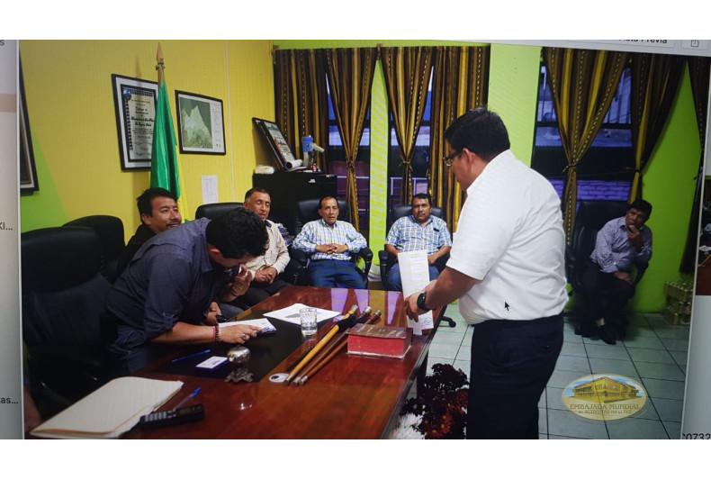 autoridades entregan proclama a EMAP