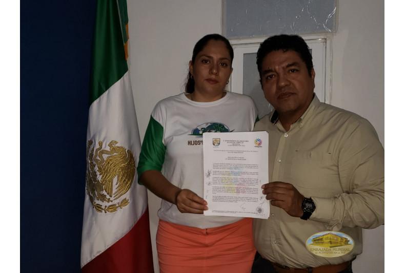 Proclama en Candelaria, Campeche