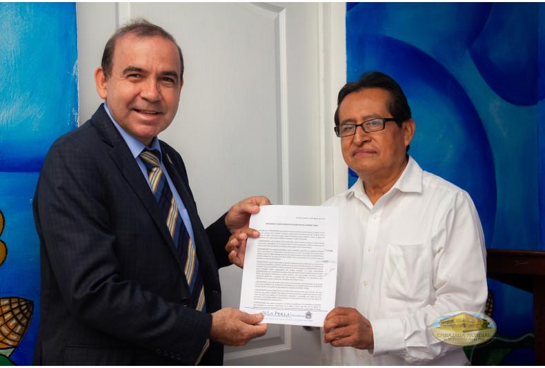 Perla, Veracruz entrega resolución en apoyo a la Proclama de la EMAP