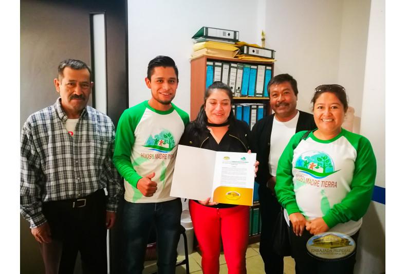San Nicolas Buenos Aires, Puebla emite proclama por la Madre Tierra