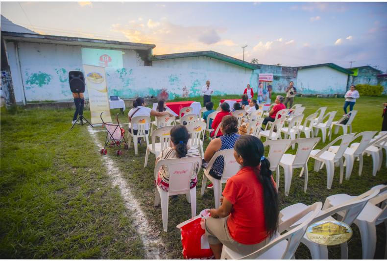 Las sesión educativa dejó en los asistentes un emotivo mensaje de amor por el prójimo