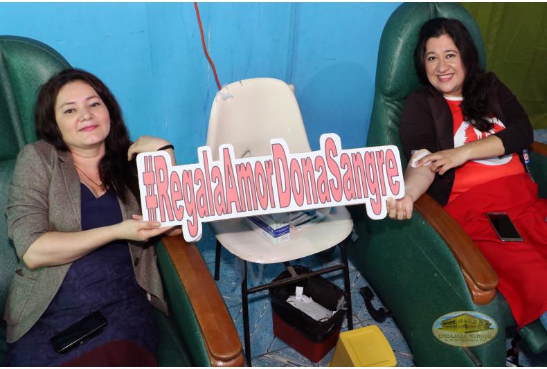 San Salvador se une a la 12 Maratón Internacional de Donación de Sangre