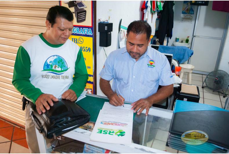 Firma Baldomero Hernández