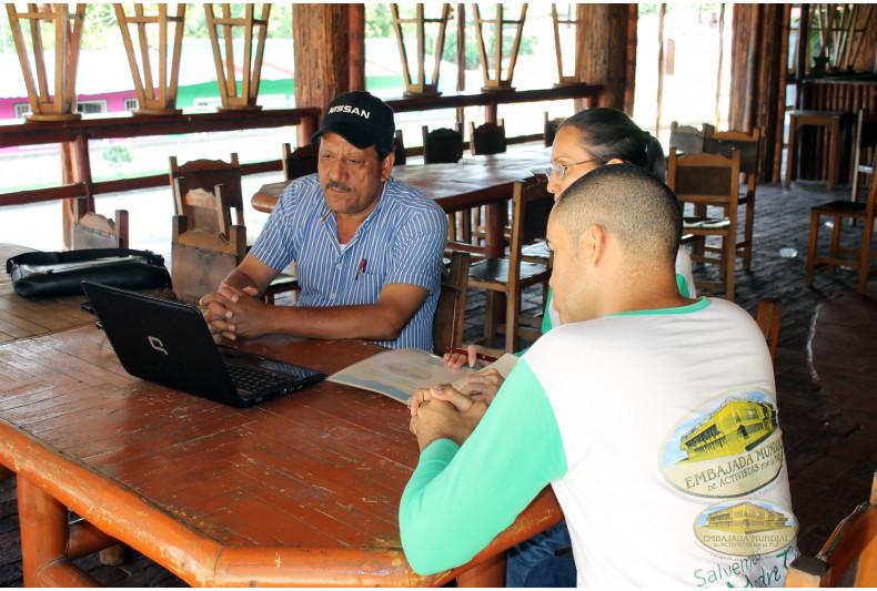 Socialización de la Proclama con autoridades del municipio de Vista Hermosa