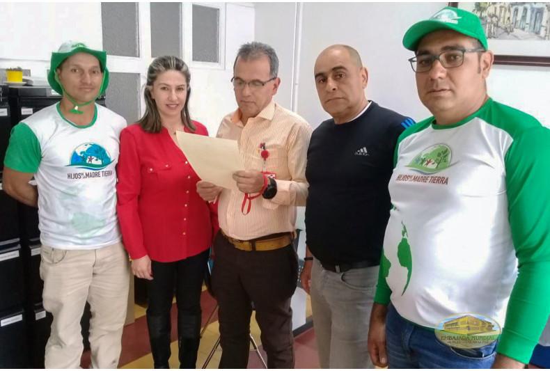 Alcalde de Salamina, Caldas entrega la resolución 247