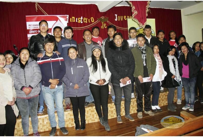 """Charlas del PEC-VIDA en la Iglesia Bautista """"Arca de Dios"""""""