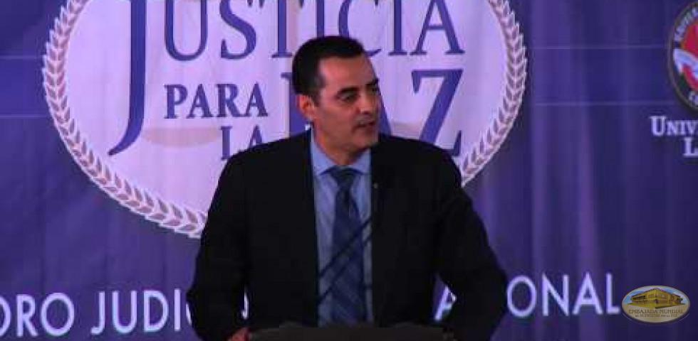 Primer Foro Judicial Internacional - Dr. José de Jesús Naveja Macías