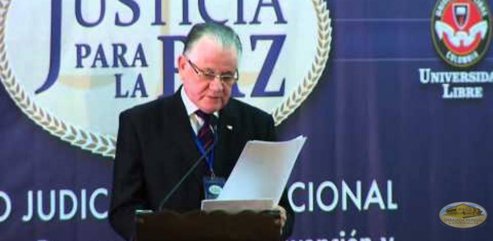 Primer Foro Judicial Internacional - Dr. Víctor Manuel Núñez