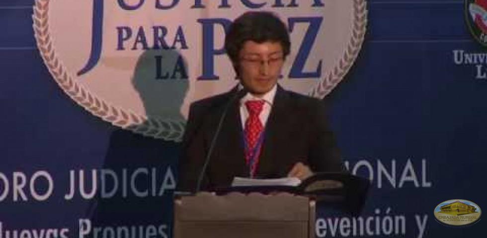 Primer Foro Judicial Internacional - Camilo Montoya Real