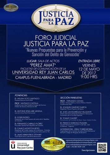 Foro Justicia para la Paz Madrid, España