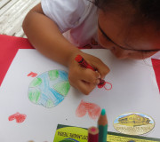Dibujo de niña