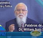 CUMIPAZ 2017 - Apertura del Dr. William Soto en Sesión Diplomática, Parlamentaria y Política | EMAP