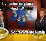 Educar para Recordar - Foro y Placa de Sobreviviente Nusia Wacher - Nusia Wacher - Venezuela | EMAP