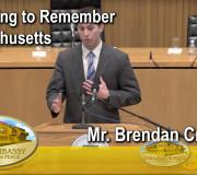 Educating to Remenber - Forum Lynn Boston Massachusetts - Mr. Brendan Crighton   GEAP