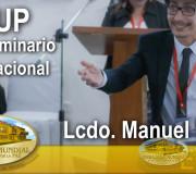 ALIUP - VIII Seminario Internacional - Lcdo  Manuel Rojas | EMAP