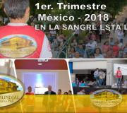 En la Sangre está la Vida - 1er. Trimestre de Trabajo en México 2018 | EMAP