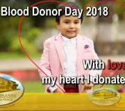 Life is in the Blood - With love from my heart I donate blood   GEAP