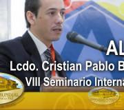 ALIUP - VIII Seminario Internacional - Lcdo  Cristian Pablo Barzola   EMAP