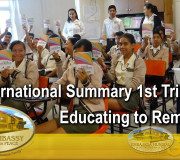 Educating to Remember - International Summary 1st Trimester 2018   GEAP