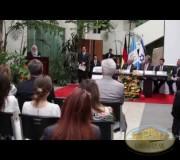 La Cancilleria de Guatemala y Regina Endelberg participaron en el proyecto Huellas para no olvidar