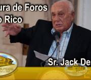 Educar para Recordar - Apertura de Foros - Sr. Jack Desperak - Puerto Rico | EMAP