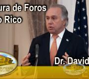 Educar para Recordar - Apertura de Foros - Dr. David Efron - Ponce Puerto Rico   EMAP