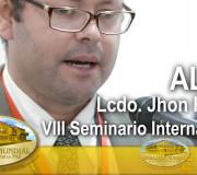 ALIUP - VIII Seminario Internacional - Lcdo  Jhon Robles   EMAP